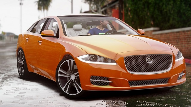 Jaguar XJ (Add-On/Replace) v1.1