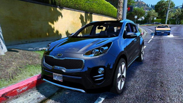 Kia Sportage 2017 (Add-On/Replace) v2.5