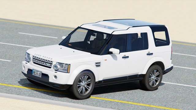 Land Rover Discovery 4 (Add-On) v3.0