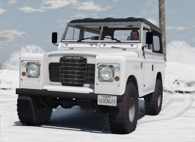 Land Rover Pickup Series 3 1988 (Add-On/Replace) v1.0