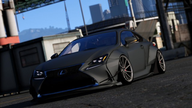 Lexus RC350 Rocket Bunny (Replace/Add On) v2.1