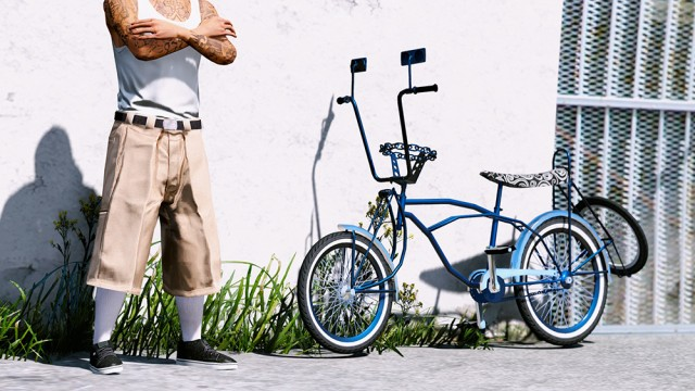 Lowrider Bicycle (Add-On/Replace) v2.0