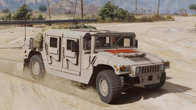 M1114 Humvee unarmed (Add-On)