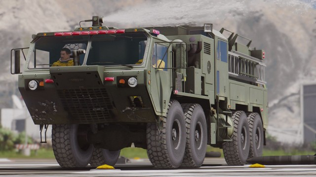 M1142 Tactical Fire Fighting Truck (Add-On)