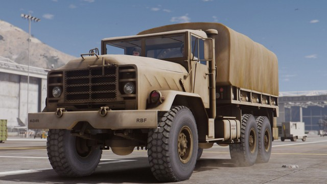 M939 5-Ton Truck (Add-On)