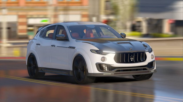 Maserati Levante Mansory (Add-On/Replace) v1.1