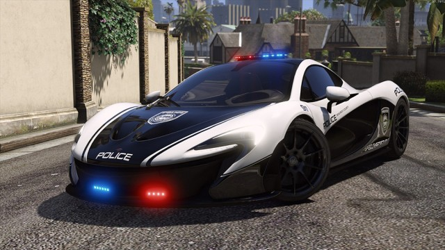 McLaren P1 - Hot Pursuit Police (Add-On/Replace)