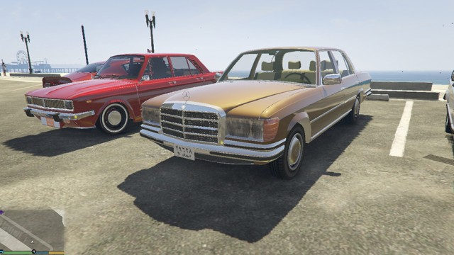 Mercedes-Benz 280SE W116 1974 (Add-On/Replace) v4.0.0