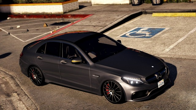 Mercedes Benz C63 AMG S 2017 (Add-On/Replace) v1.1