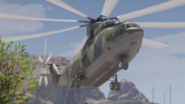 Mil Mi-26 Halo (Add-On) v1.0