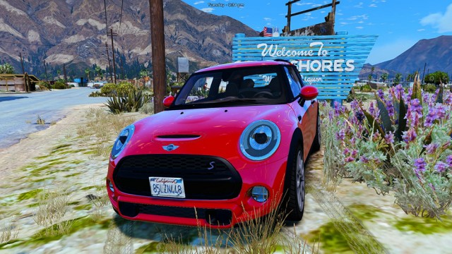 Mini Cooper S 2015 (Add-on/Replace) v1.2