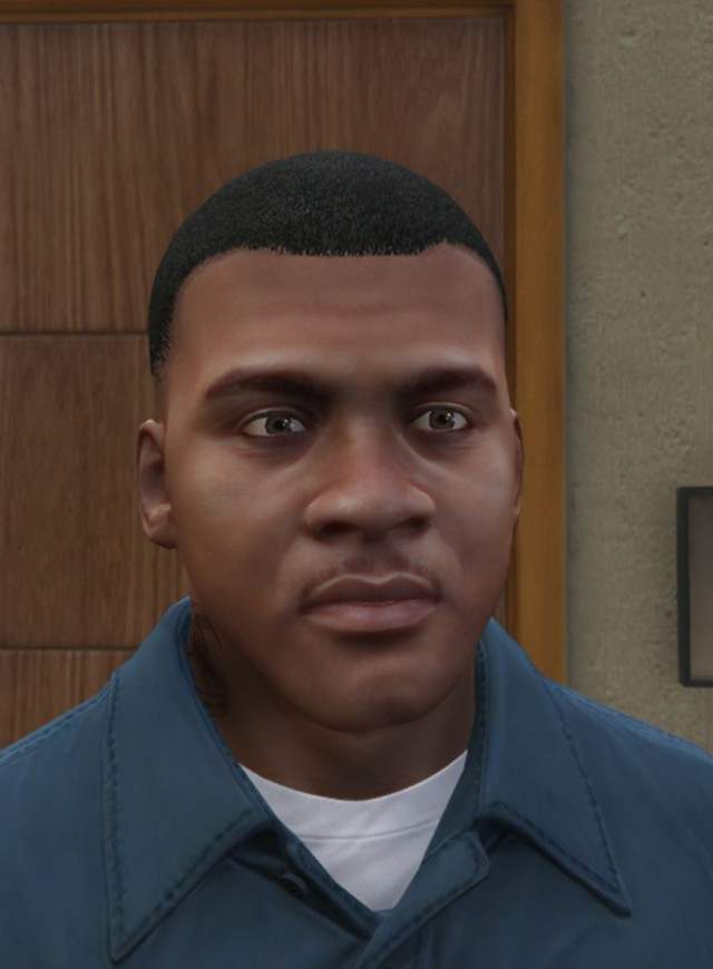 New 2K & 4K Face Texture for Franklin and Michael v1.0