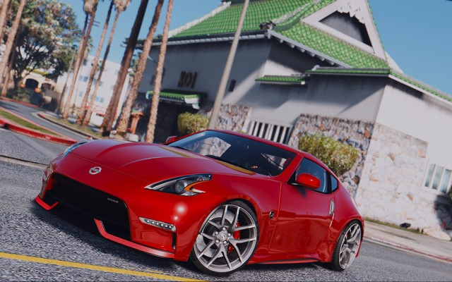 Nissan 370Z Nismo Z34 2016 (Add-On/Replace)