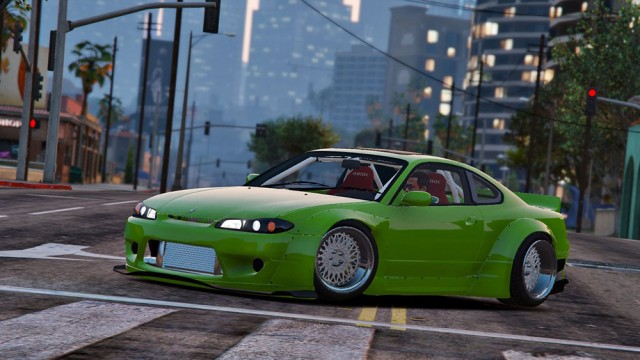 Nissan Silvia S15 Rocket Bunny (Add-On/Replace) v1.2
