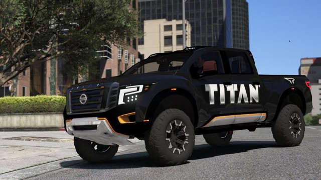 Nissan Titan Warrior 2017 (Add-On/Replace) v2.0