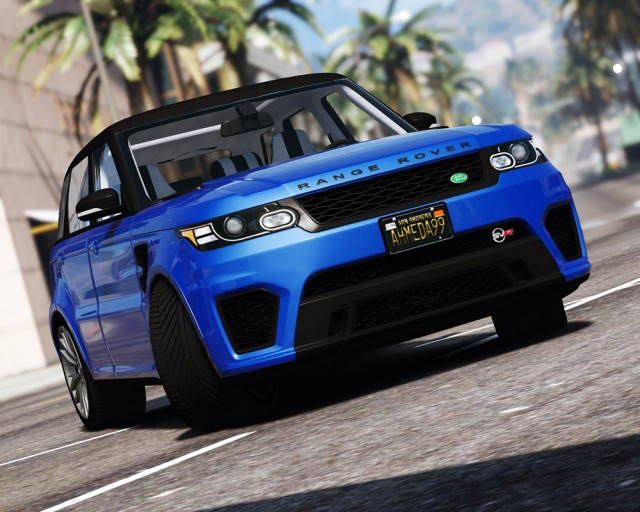 Range Rover Sport SVR 2016 (Add-On/Replace) v1.2
