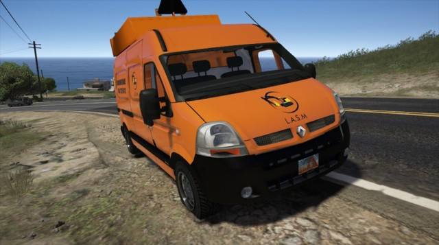 Renault Master Street Maintenance (Add-On/Replace) v1.0
