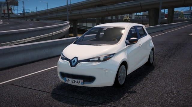 Renault Zoe 2013 (Add-On/Replace)