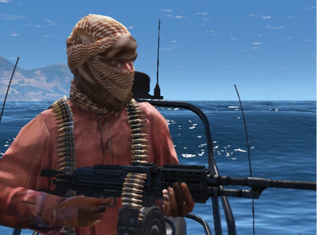Somali pirate from Medal of Honor:Warfighter