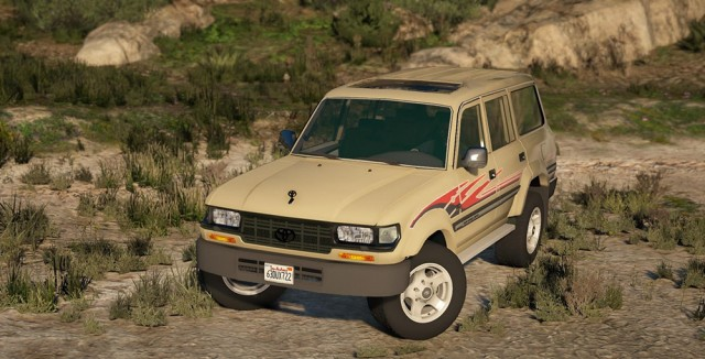 Toyota Land Cruiser Autana J80 1997 (Add-On/Replace) v2.0