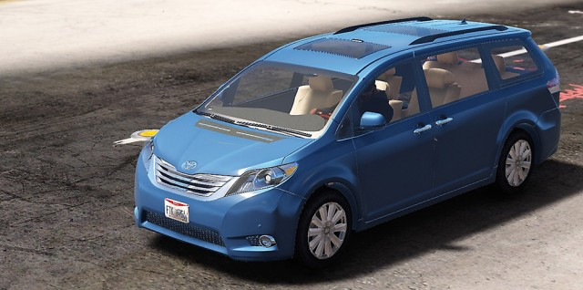 Toyota Sienna Limited 2011 (Add-On/Replace) v1.1
