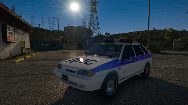 VAZ-2114(2115) Lada Police (Add-On) v1.0