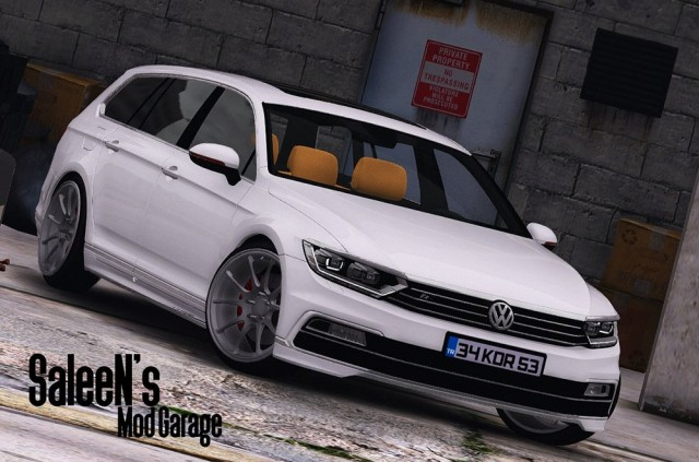 Volkswagen Passat Variant R Line B8 2016 (Add-On/Replace) v1.2