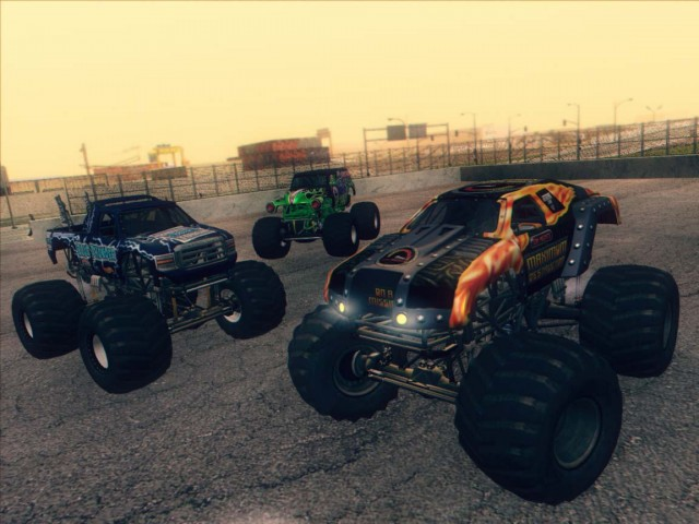Monster Jam Trucks Pack