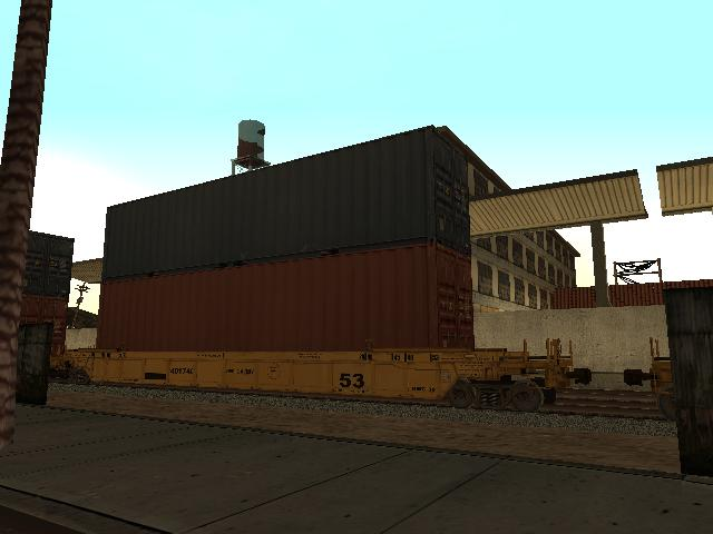 Railworks 2 Train Simulator Double Stacker