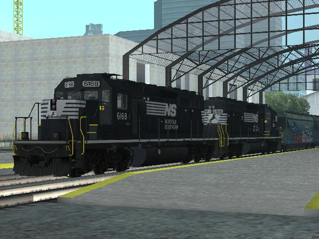 EMD SD40-2 Freight Norfolk Southern
