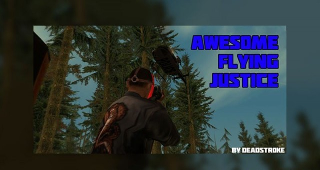Awesome Flying Justice