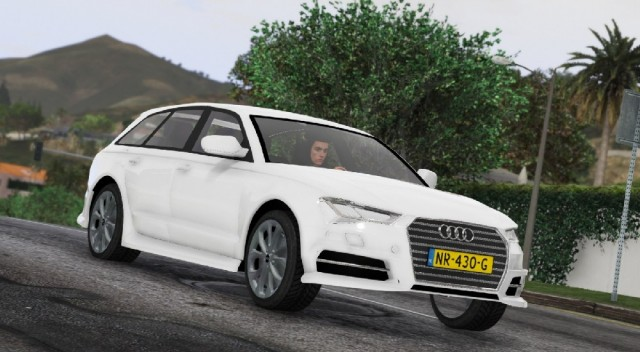Audi A6 Avant 2017 (Add-On/Replace) v1.0