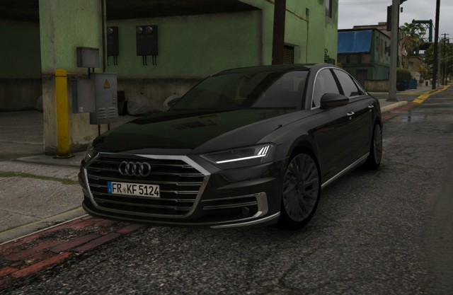 Audi A8 2018 (Add-On/Replace)