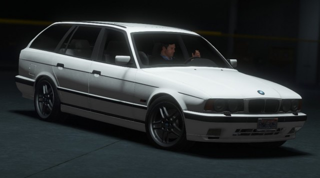 BMW E34 M5 Touring 1995 (Add-On/Replace) v1.0