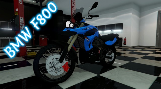BMW F800 Eliminador (Add-On) v2.0