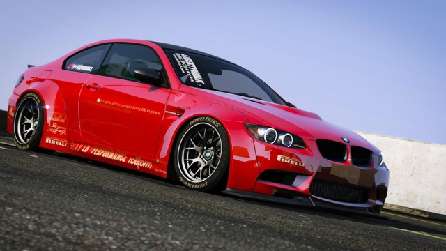 BMW M3 E92 Liberty Walk 2010 (Add-On) v1.0