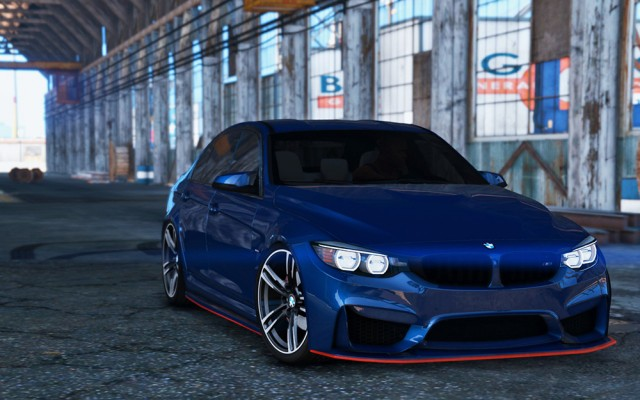 BMW M3 F80 2015 (Add-On/Replace) v1.0