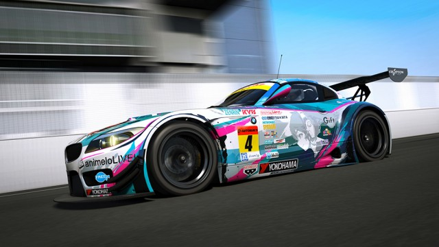 BMW Z4 GT3 E89 (Add-On)