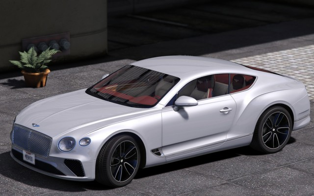 Bentley Continental GT 2018 (Add-On/Replace) v1.0