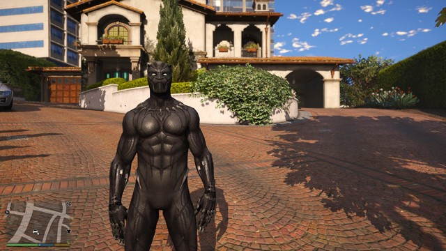 Black Panther from Black Panther Movie v1.1