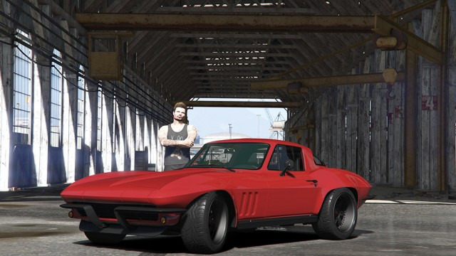 Chevrolet Corvette Stingray 1966 [F&F 8] (Add-On/Replace) v1.0