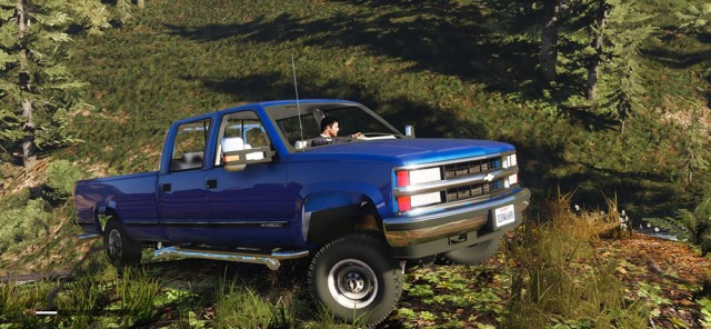 Chevrolet Silverado 3500 LS Crew Cab 4x4 1999 (Replace/Add-On) v0.8