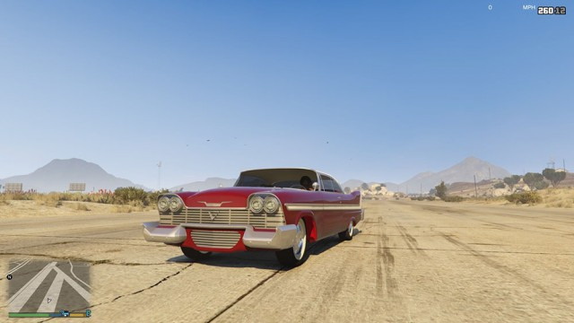 Christine Plymouth Fury 1958 (Add-On) v1.0