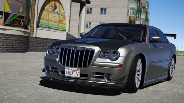 Chrysler 300c SRT8 2008 (Add-On) v1.1