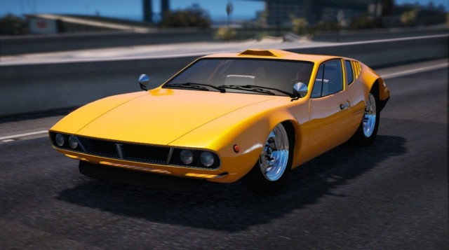 De Tomaso Mangusta (Add-on/Replace) v1.0
