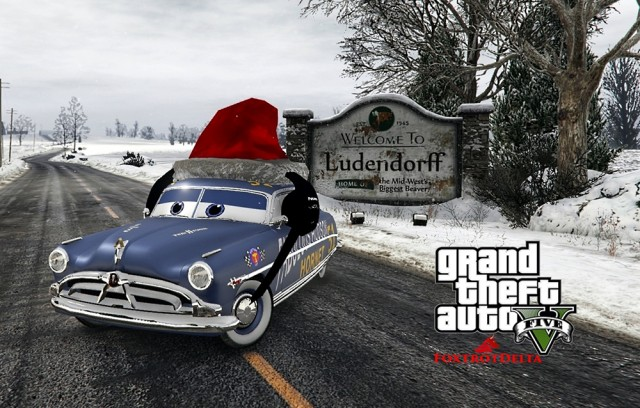 Doc Hudson - Disney Cars Christmas v1.0