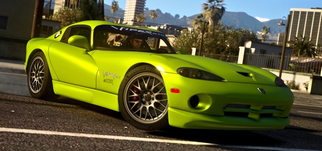 Dodge Viper GTS ACR 1999 (Add-On\Replace) v1.4