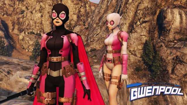 Evil Future Gwenpool v1.0