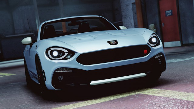 Fiat 124 Spider Abarth 2017 (Add-On/Replace) v1.0