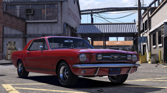 Ford Mustang GT Mk.1 1965 (Add-On) v1.2